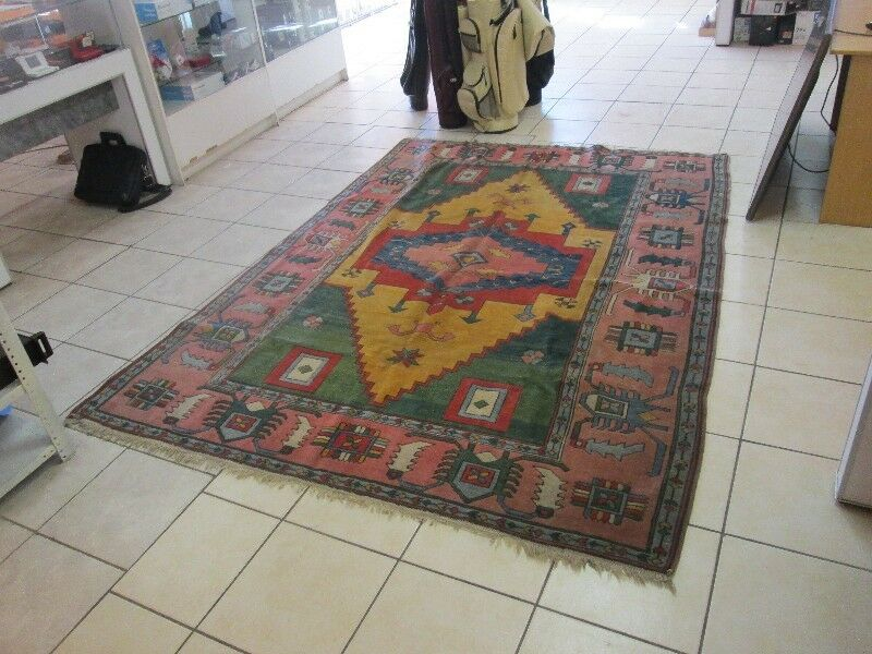 NAHAVAND PERSIAN HAND KNOTTE310 X 172 S.33 CARPET RUG IN GOOD CONDITION