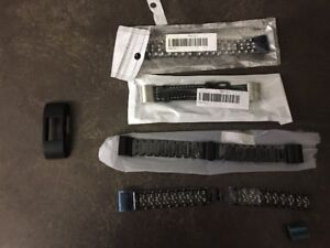 4 - Fitbit Charge 2 wrist straps and 1 rubber face guard