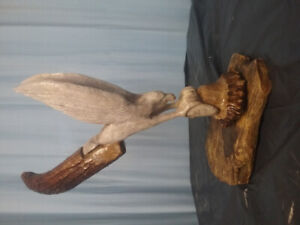 Handcrafted  antler carvings