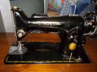 Machine a coudre singer ancienne