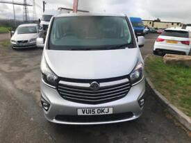 Vauxhall Vivaro 1.6CDTi 120PS BiTurbo Sportive LONG WHEEL BASE SILVER