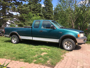 1997 Ford F-150 Tissus gris Camionnette