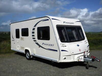 BAILEY PAGEANT MONARCH Series 7, 2010 2 berth with motor mover, end washroom, excellent.