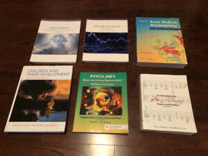 MCMASTER PSYCH AND NURSING TEXTBOOKS