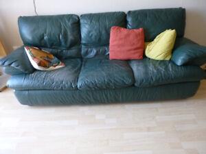 FREE couch, lamp, bookshelf, shelving units