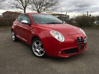 Alfa Romeo MiTo 1.4 TB MultiAir 105bhp 2011MY Distinctive