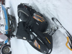 Mint 2007 Skidoo Mach Z 1000 new motor too fast!!!