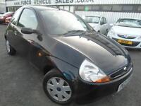 2007 Ford Ka 1.3 Style - Black - Platinum warranty / MOT!