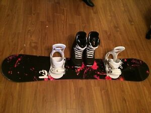 Brand new K2 snowboard . Includes bindings and boots