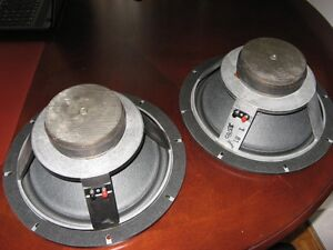 VINTAGE 12 inch  ALTEC LANSING SPEAKERS & PACKING BOXES