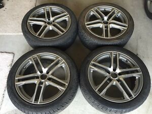 "2008 VW JETTA RIMS OEM 17"" with 225/45/17 tires"