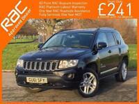 2011 Jeep Compass 2.2 CRD Turbo Diesel 70th Anniversary Limited Ltd 6 Speed 4x4
