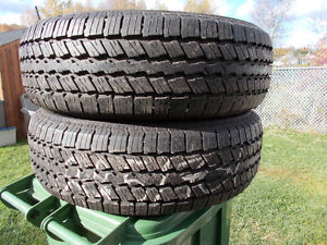 p225/70/15 inch all season tires / TONS OF TREAD / GOOD DEAL
