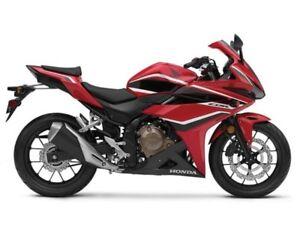 2018 Honda CBR500R ABS / 38$/sem