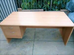 Office\Student Desk -Beech Laminate- 180cm x 90cm x 72cm -CAN DELIVER