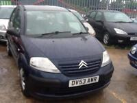 Citroen C3 1.4i LX,ECONOMICAL,LOW MILES,MARCH 17 MOT