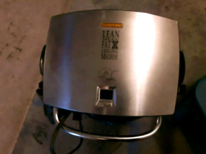 LEAN Mean Grilling machine... Only 10 obo