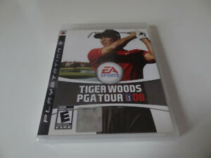 *Tiger  Woods PGA Tour   08 (PS3 Game NTSC)*