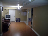 Spacious 2 bedroom basement apartment available