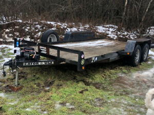 2013 Gator 16' Equipment Trailer