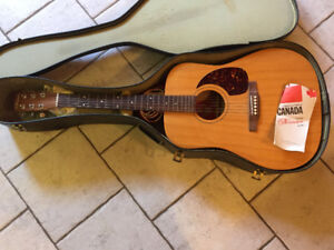 Norman B20 Guitar, great condition with case.