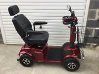 RASCAL PIONEER 8MPH MOBILITY SCOOTER WITH WARRANTY