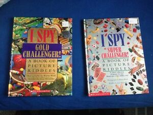 "Two Hardcover ""I SPY"" books"