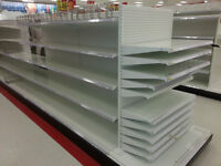 Store Shelving units, Gondola shelving