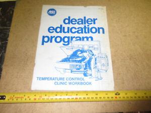 GARAGE DEALER EDUCATION PROGRAM ON AIR CONDITIONING