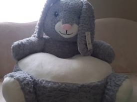 BRAND NEW Unisex Kids Sitting Bunny Plush - FREE Local Delivery