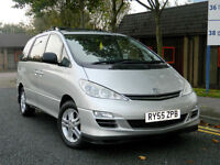 2006 55 Toyota Previa 2.0 D-4D T Spirit 5dr (7 Seat) WITH ONLY 95K WITH FSH