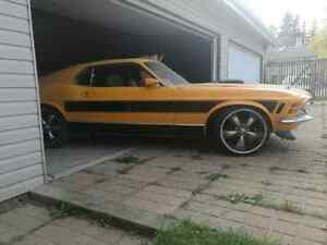 1970 mustang mach 1 shakker  4 trade or sale