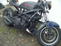 Yamaha 1100 Street Fighter Mad Max Custom PX Swap Anything considered