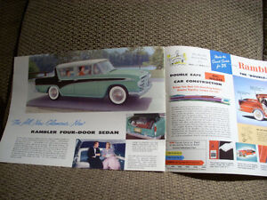 1956 nash rambler sales brochure Peterborough Peterborough Area image 7