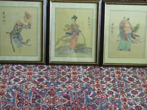 3 Charming Chinese Paintings