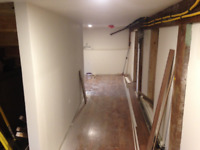 Drywall Mud/Tape and Painting (Langford)
