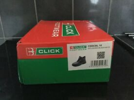 Steel cap work boots size 10