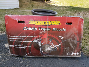 Trailer bicycle for child