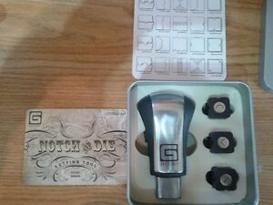 Notch and Die Cutting Tool