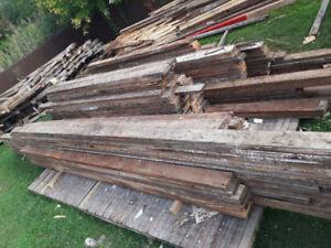 madrier / BC - Bois grange / Barn wood