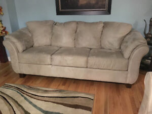 Sofa and Love Seat on Sale