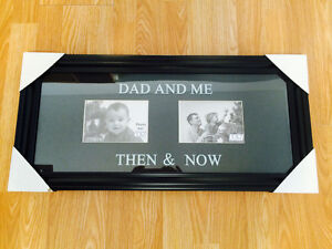 """""""Dad & Me"""" picture frame"""