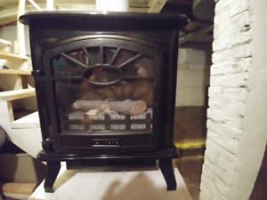 Infrared Electric Wood Stove