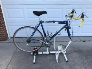 Training apparatus   bike as shown