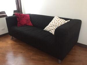 Sofa 2 places IKEA Klippan