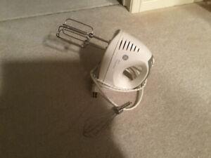 GE hand mixer