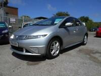 2008 08 HONDA CIVIC 1.3 I-DSI SE PLUS 5D 82 BHP