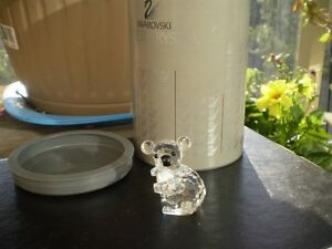 "Swarovski Crystal Figurine - "" Koala Bear "" 7673 NR"