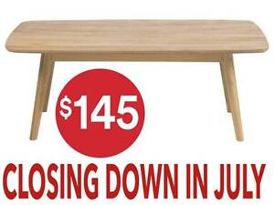 CLOSING SALE - Tokyo Coffee Table Osborne Park Stirling Area Preview