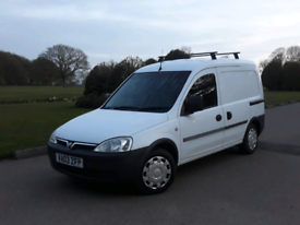 VAUXHALL COMBO 1.7 DI (55+MPG) MOT TIL JANUARY 2022, PLYLINED etc
